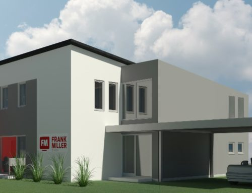 Unser neues Firmengebäude entsteht