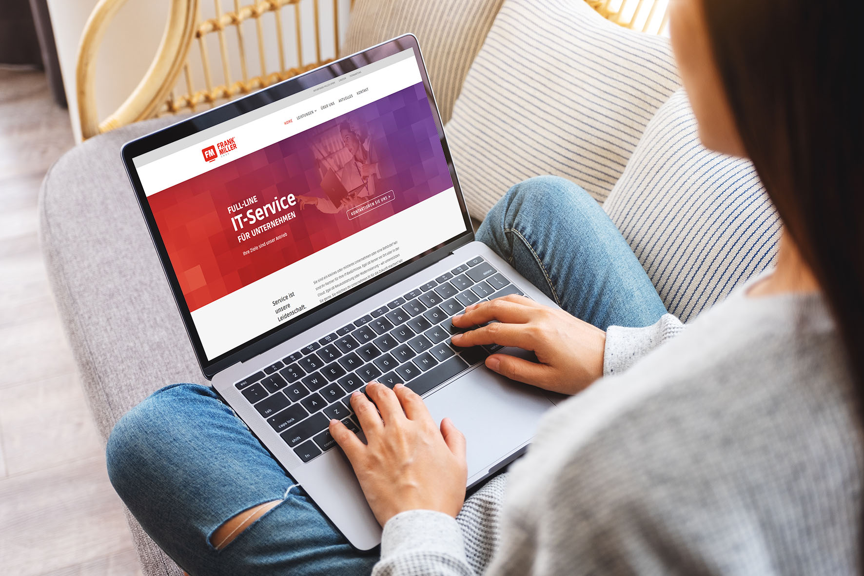 Launch Webseite Frank Miller GmbH FM-Blog